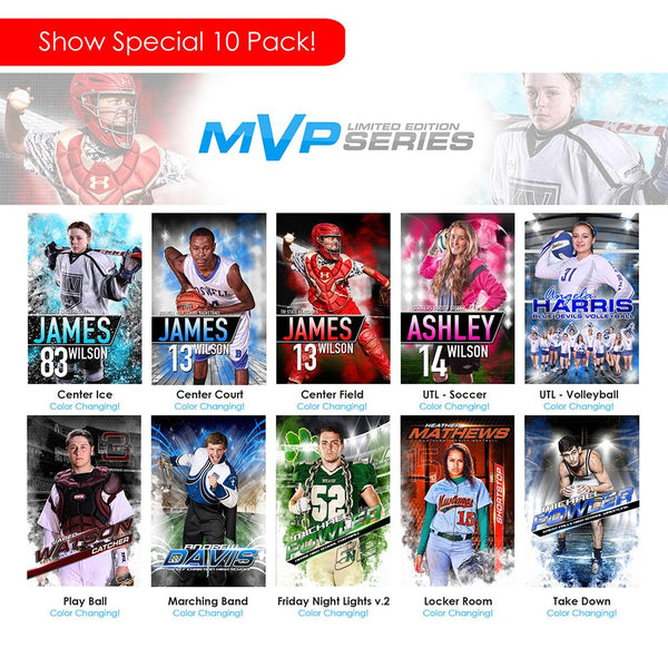 2019 Trade Show - MVP Series 10 Pack-Photoshop Template - Photo Solutions