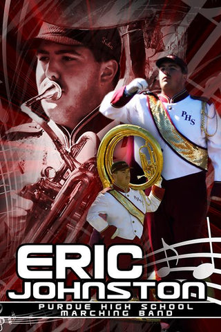 Marching Band v.5 - Action Extraction Poster/Banner Downloadable Template Photo Solutions PSMGraphix