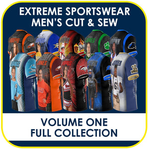 01 - Volume 1 - Men's Cut & Sew Extreme Sportswear Collection-Photoshop Template - PSMGraphix