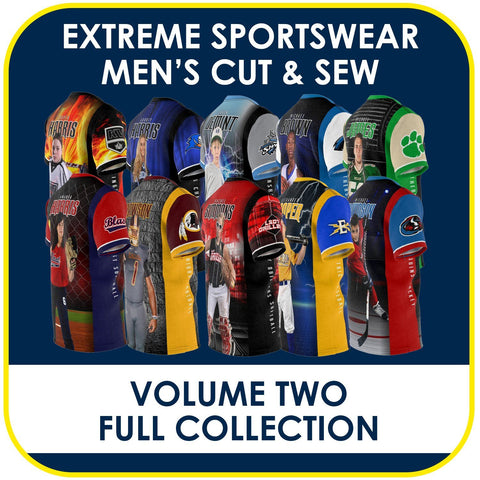 02 - Volume 2 - Men's Cut & Sew Extreme Sportswear Collection-Photoshop Template - PSMGraphix