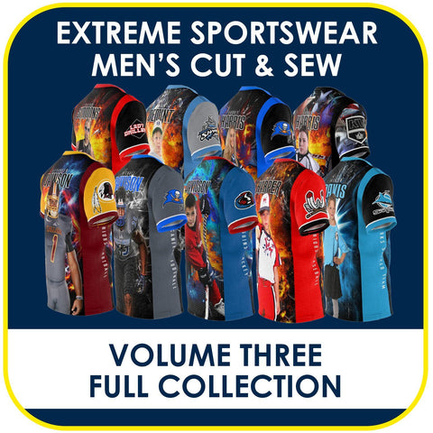03 - Volume 3 - Men's Cut & Sew Extreme Sportswear Collection-Photoshop Template - PSMGraphix