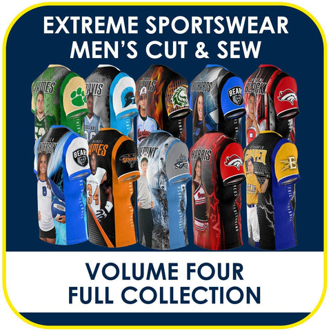 04 - Volume 4 - Men's Cut & Sew Extreme Sportswear Collection
