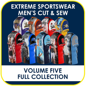 05 - Volume 5 - Men's Cut & Sew Extreme Sportswear Collection-Photoshop Template - PSMGraphix