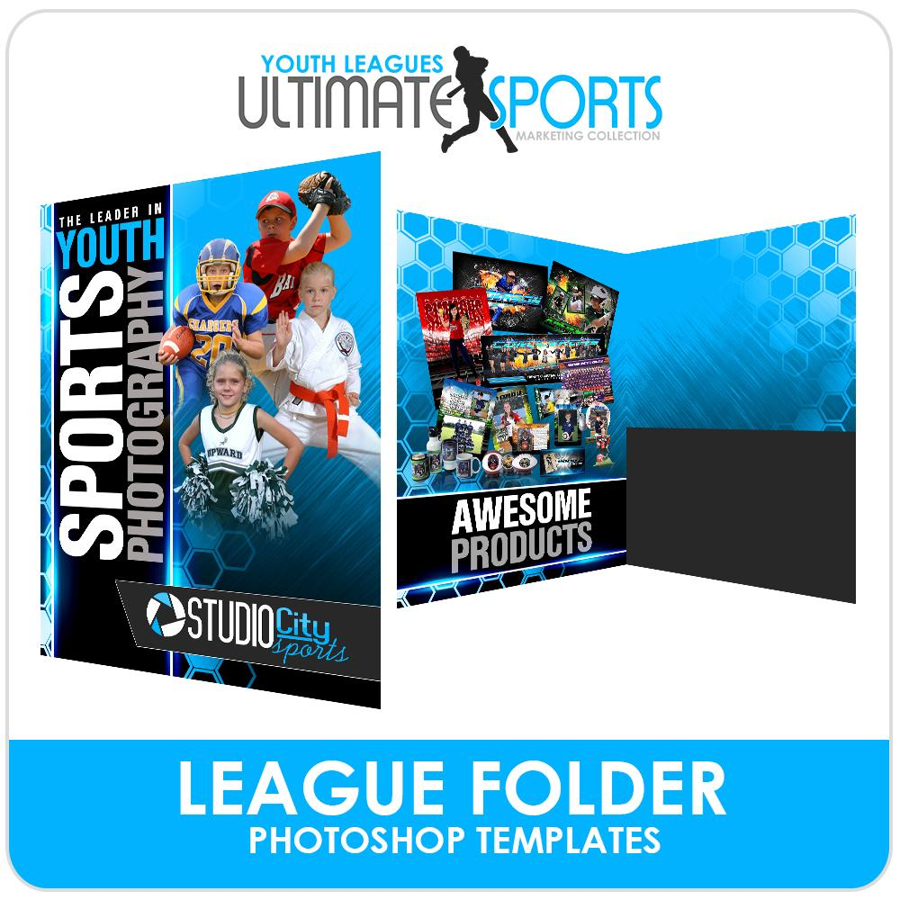 League Folder - Ultimate Youth Sports Marketing Templates-Photoshop Template - Photo Solutions