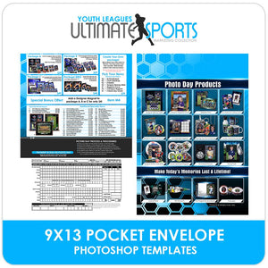 9x13 Pocket Order Form - Ultimate Youth Sports Marketing Templates