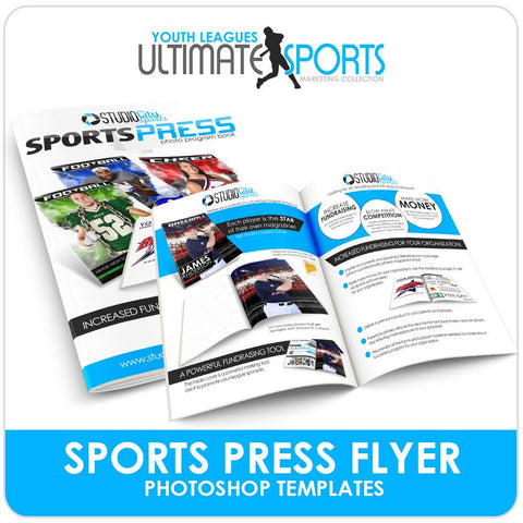 SportsPress League Brochure - Ultimate Youth Sports Marketing Templates