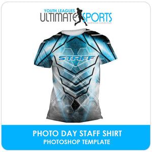 Staff Shirt - Ultimate Youth Sports Marketing Templates-Photoshop Template - Photo Solutions