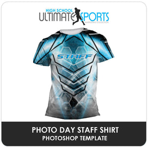 Staff Shirt - Ultimate High School Sports Marketing Templates-Photoshop Template - Photo Solutions