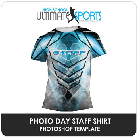 Staff Shirt - Ultimate High School Sports Marketing Templates Downloadable Template Photo Solutions PSMGraphix