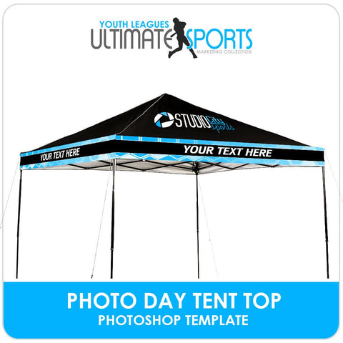 Photo Day Tent Top - Ultimate Youth Sports Marketing Templates