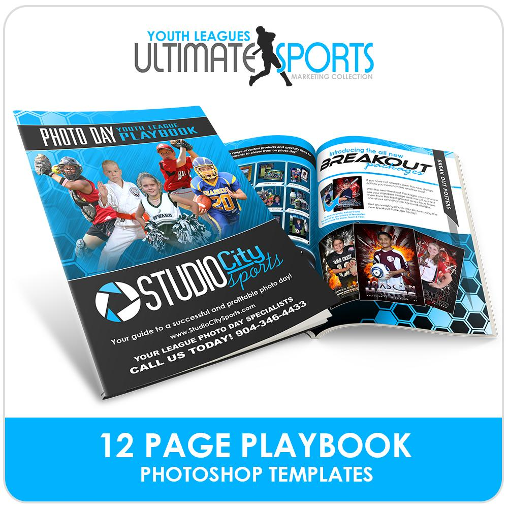 Youth Sports Playbook - Ultimate Youth Sports Marketing Templates-Photoshop Template - Photo Solutions
