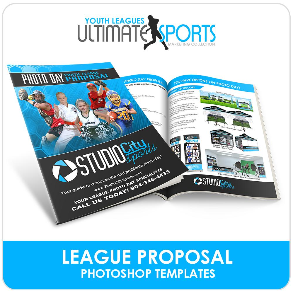 Youth League Proposal & Contract - Ultimate Youth Sports Marketing Templates-Photoshop Template - Photo Solutions