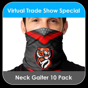 2021 Special - Neck Gaiter - 10 PACK COLLECTION - Template Bundle-Photoshop Template - PSMGraphix