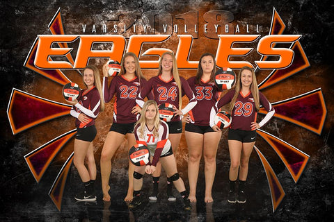 Eagle - NEXT Series - Team Poster/Banner HT-Photoshop Template - Photo Solutions
