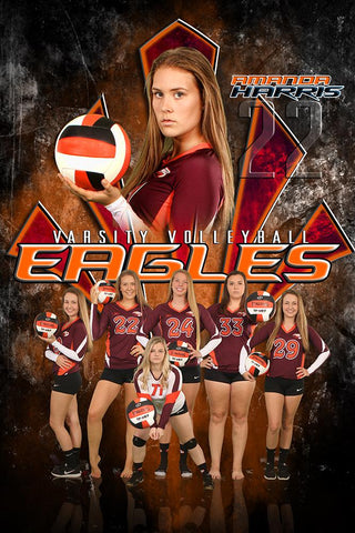 Eagle - NEXT Series - T&I Poster/Banner VMM Downloadable Template Photo Solutions PSMGraphix