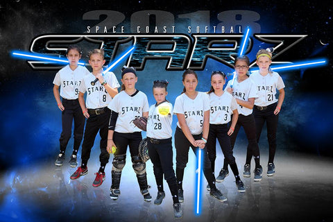 Starz - NEXT Series - Team Poster/Banner HT Downloadable Template Photo Solutions PSMGraphix