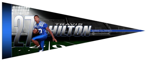 Friday Lights v.2 - Pennant Downloadable Template Photo Solutions PSMGraphix