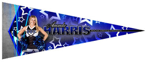 Metal Stars v.4 - Pennant-Photoshop Template - Photo Solutions