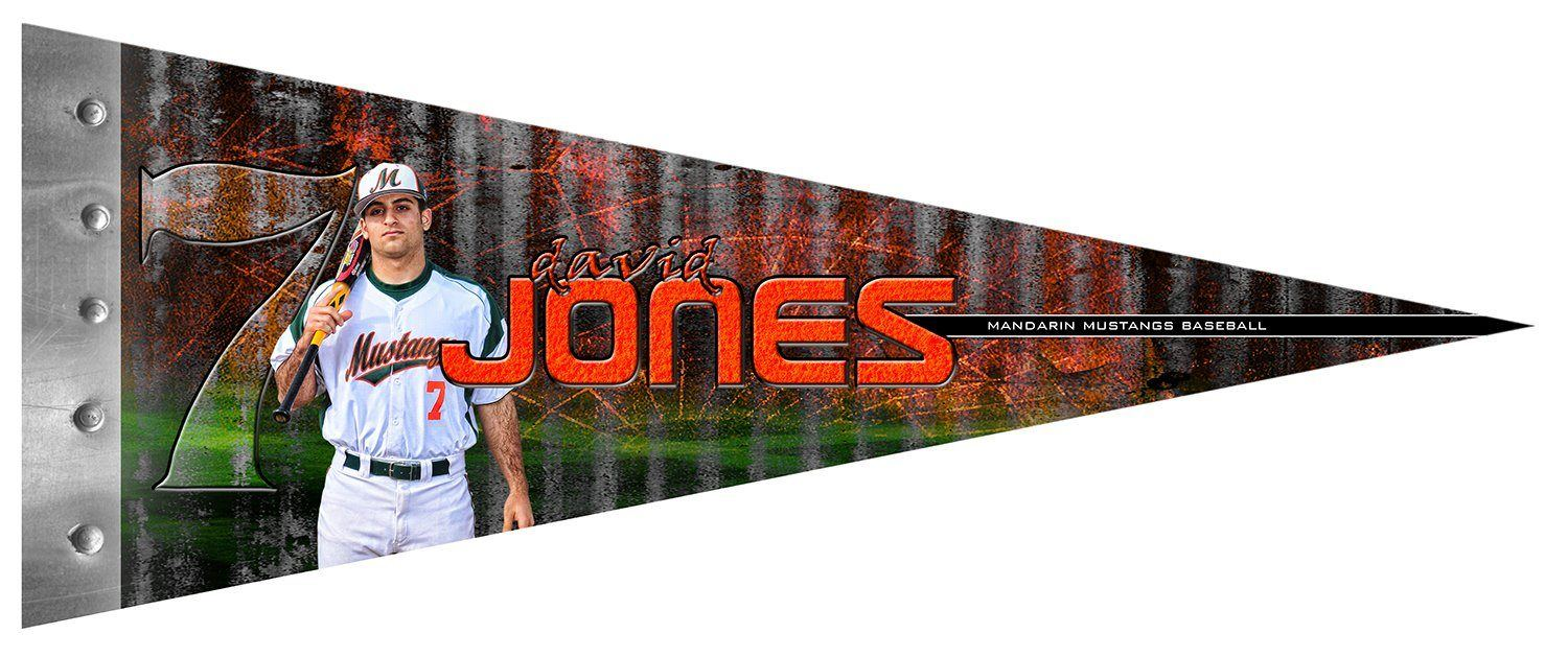 Steel Plate v.1 - Pennant-Photoshop Template - Photo Solutions