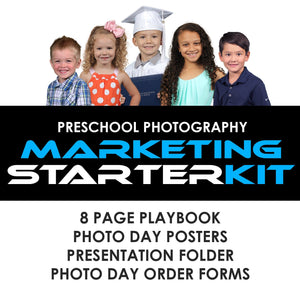 06 Preschool Marketing - STARTER KIT Photoshop Template -  PSMGraphix