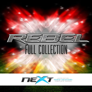 01 Full Set - REBEL Collection Downloadable Template Photo Solutions PSMGraphix