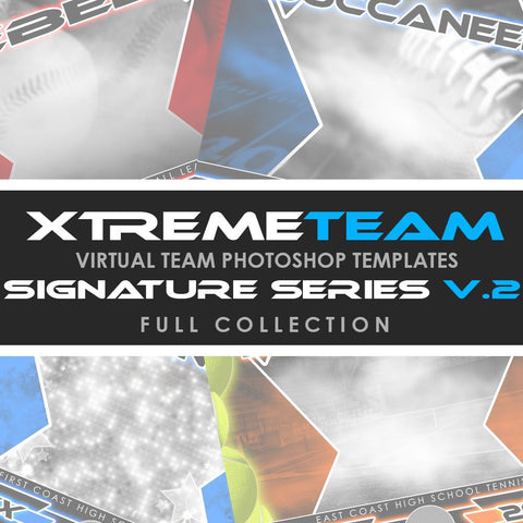 07 - Xtreme Team - V2 Signature Series - Full Photoshop Template Collection-Photoshop Template - Photo Solutions