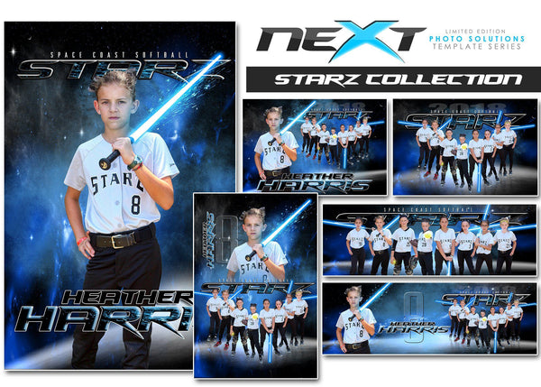 01 Full Set - STARZ Collection-Photoshop Template - Photo Solutions