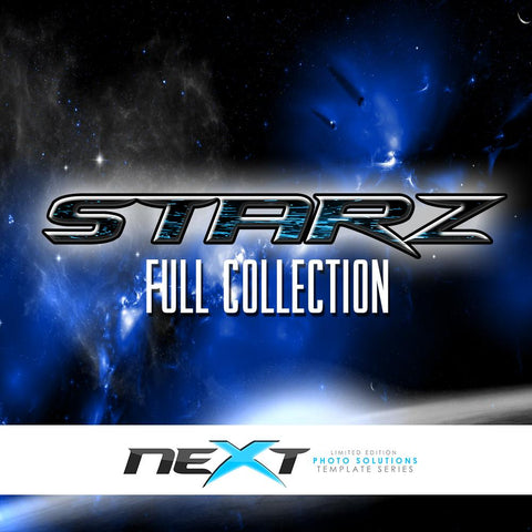 01 Full Set - STARZ Collection Downloadable Template Photo Solutions PSMGraphix