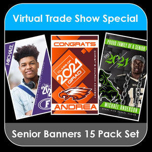 2021 Special - Class of 2021 - 15 PACK COLLECTION - Door Banner Templates-Photoshop Template - PSMGraphix