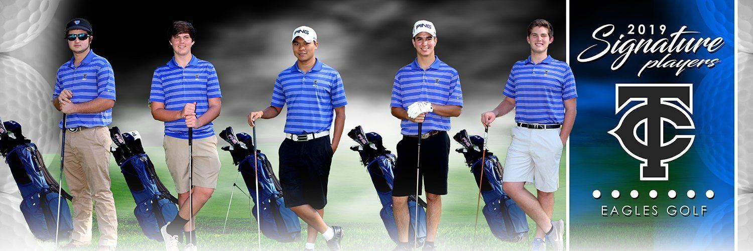 Golf - v.1 - Signature Player - Team Panoramic-Photoshop Template - Photo Solutions