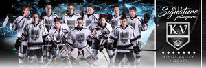 Hockey - v.1 - Signature Player - Team Panoramic-Photoshop Template - Photo Solutions