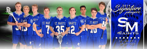 Lacrosse - v.1 - Signature Player - Team Panoramic-Photoshop Template - Photo Solutions