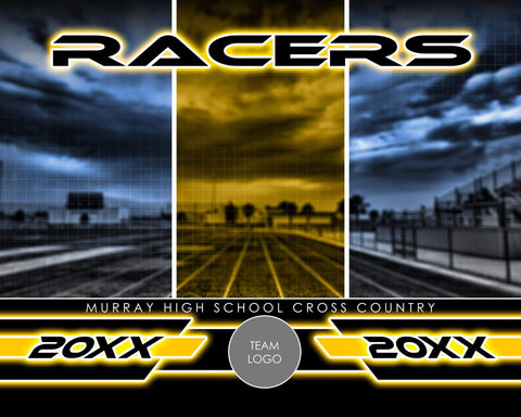 Track & Field - Signature Series v.1 - Xtreme Team Photoshop Template