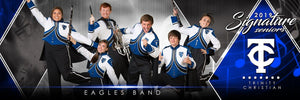 Band- v.2 - Signature Player - Team Panoramic Downloadable Template Photo Solutions PSMGraphix