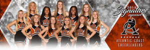 Cheer - v.2 - Signature Player - Team Panoramic-Photoshop Template - Photo Solutions