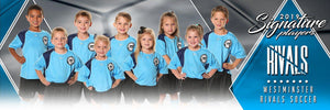 Soccer - v.2 - Signature Player - Team Panoramic-Photoshop Template - Photo Solutions