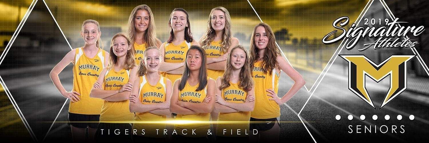 Track & Field - v.2 - Signature Player - Team Panoramic-Photoshop Template - Photo Solutions