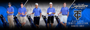 Golf - v.3 - Signature Player - Team Panoramic Photoshop Template -  PSMGraphix