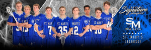 Lacrosse - v.3 - Signature Player - Team Panoramic-Photoshop Template - Photo Solutions