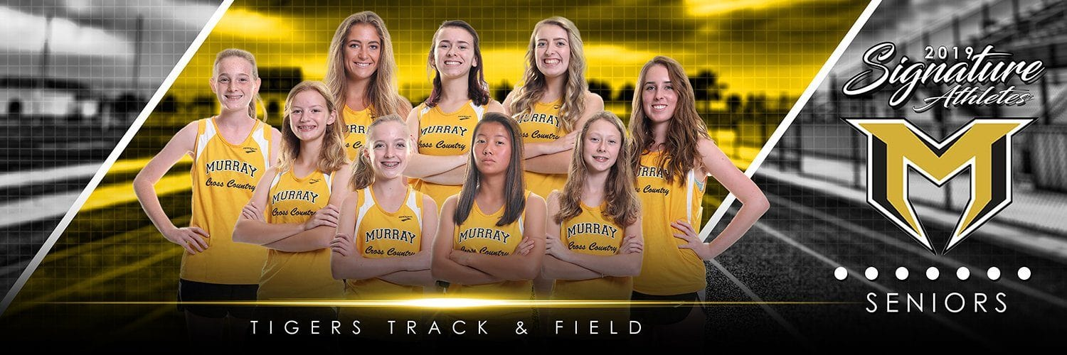Track & Field - v.3 - Signature Player - Team Panoramic-Photoshop Template - Photo Solutions