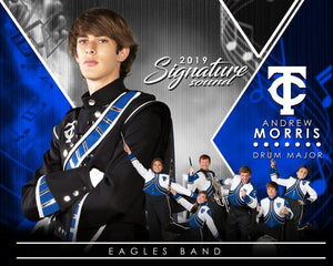 Band - v.2 - Signature Player - H T&I Poster/Banner Downloadable Template Photo Solutions PSMGraphix