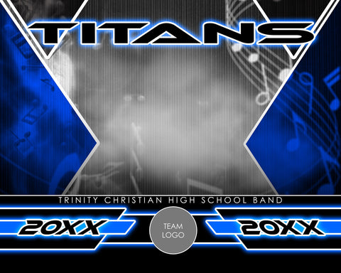 Band - Signature Series v.2 - Xtreme Team Photoshop Template-Photoshop Template - Photo Solutions