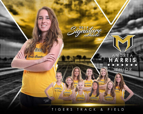Track & Field - v.2 - Signature Player - H T&I Poster/Banner