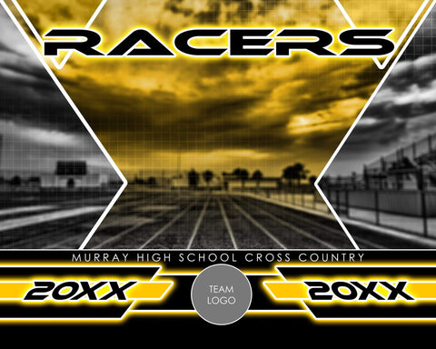 Track & Field - Signature Series v.2 - Xtreme Team Photoshop Template