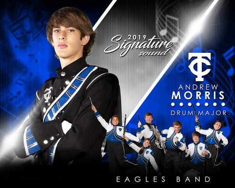 Band - v.3 - Signature Player - H T&I Poster/Banner Downloadable Template Photo Solutions PSMGraphix