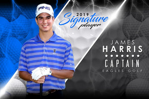Golf- v.3 - Signature Player -H Poster/Banner-Photoshop Template - Photo Solutions