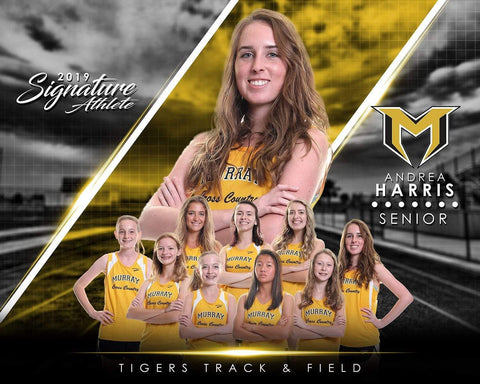 Track & Field - v.3 - Signature Player - H T&I Poster/Banner