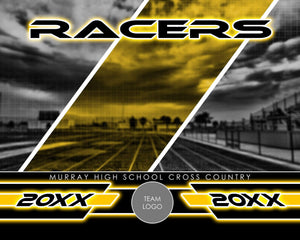 Track & Field - Signature Series v.3 - Xtreme Team Photoshop Template