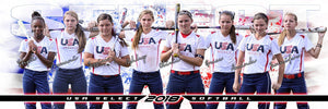 Patriot - Signature Series - Team Panoramic-Photoshop Template - Photo Solutions