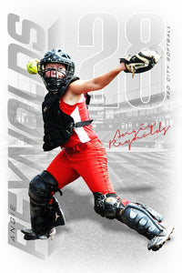 Stadium - Signature Series - Player Banner & Poster Template V-Photoshop Template - Photo Solutions